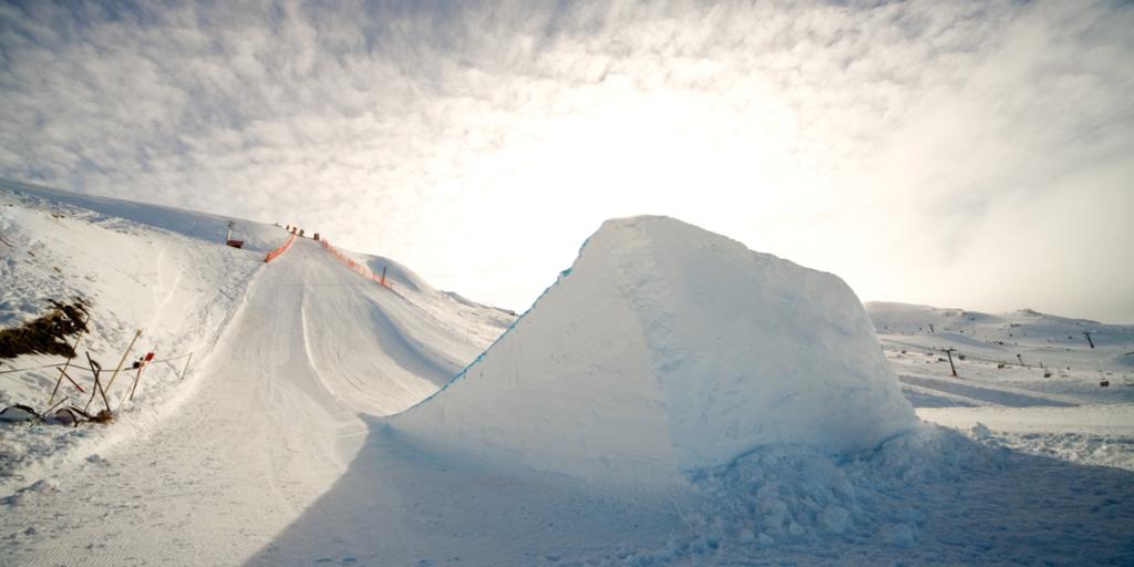 スノーボード キッカー