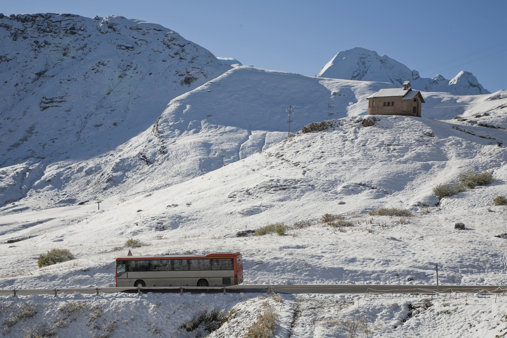 雪山 バス