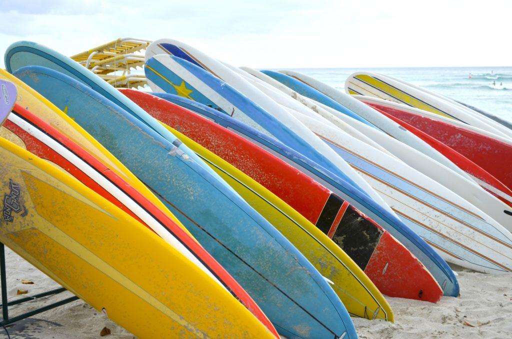 サーフボードの無料写真